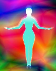A sparkling vibrant aura!